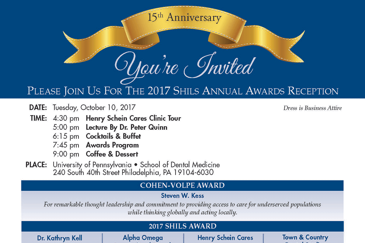SFG Member Steven W. Kess Is the Recipient of the 2017 Cohen/Volpe Award