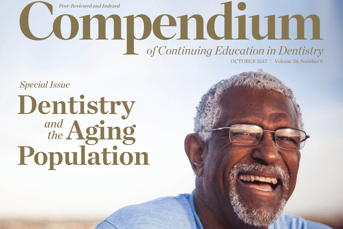 Compendium October Issue Is Live! With Michael C. Alfano Santa Fe Group President, Addressing Dentistry and the Aging Patient